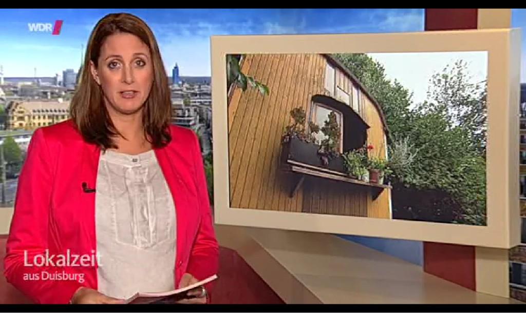 Lokalzeit Duisburg Anmoderation Beitrag zur Bauwagensiedlung